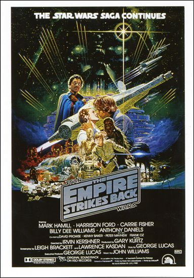 Star Wars: The Empire Strikes Back Widevision (Mini-Posters Subset) 4-A by Topps