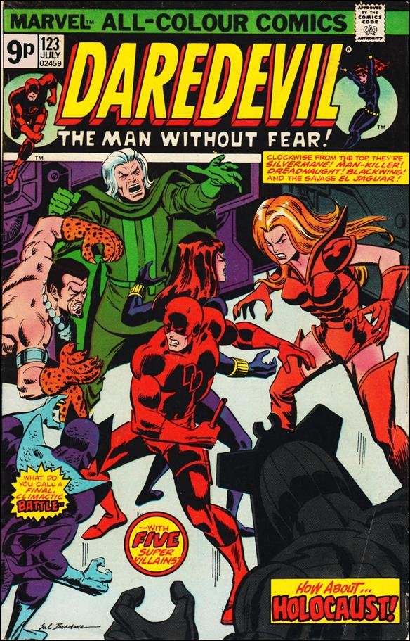 Daredevil (1964) 123-B by Marvel