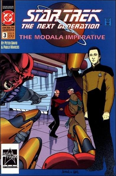 Star Trek: The Next Generation - The Modala Imperative 3-A by DC