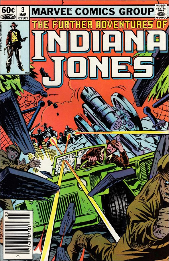 Further Adventures of Indiana Jones 3-A by Marvel