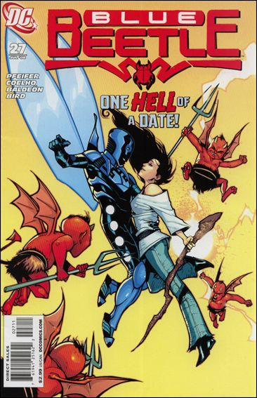 Blue Beetle (2006) 27-A by DC