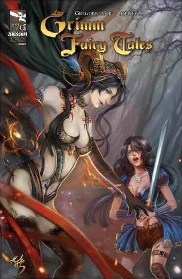 Grimm Fairy Tales 70-A by Zenescope Entertainment