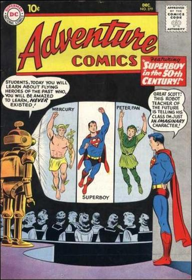 Adventure Comics (1938) 279-A by DC