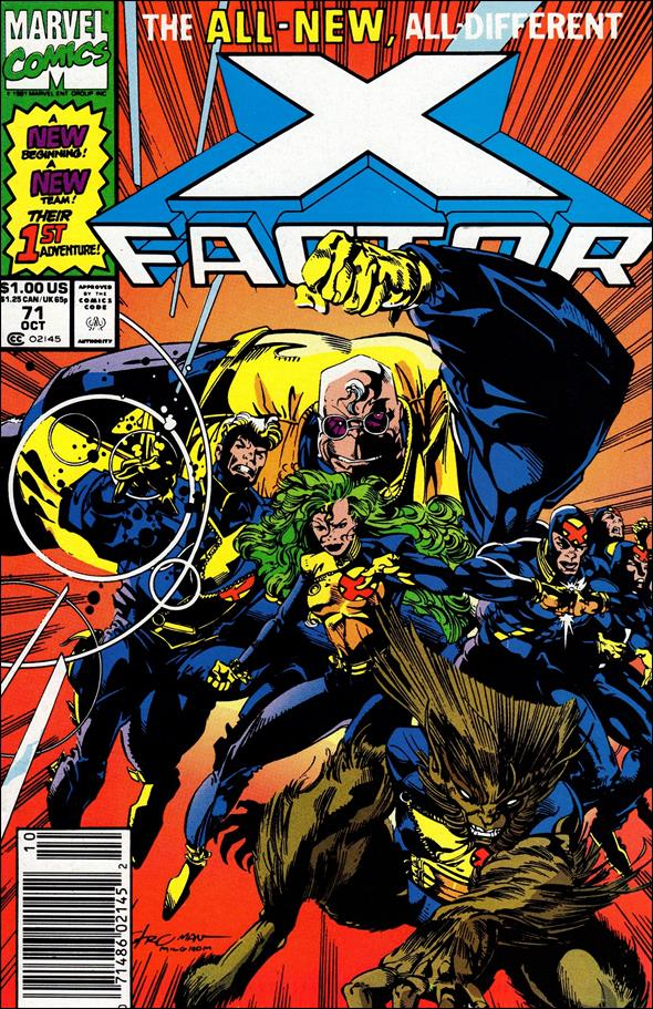 X-Factor (1986) 71-A by Marvel
