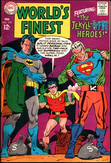 World's Finest Comics 173-A by DC