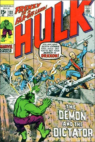 Incredible Hulk (1968) 133-A by Marvel