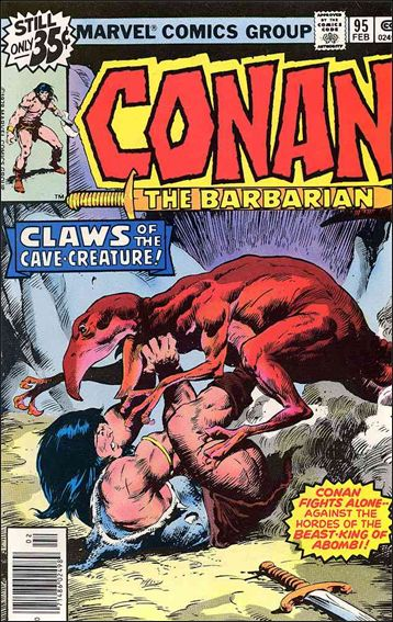 Conan the Barbarian (1970) 95-A by Marvel