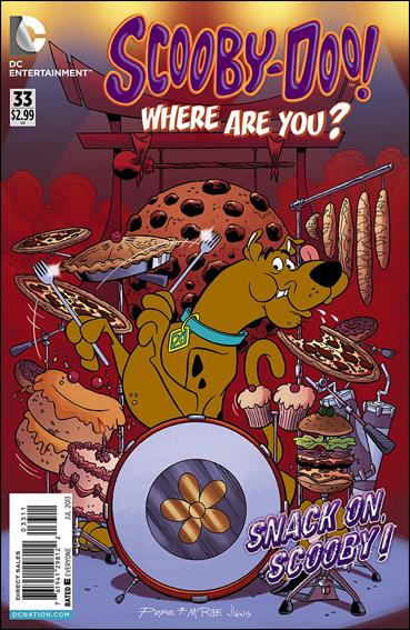 Scooby-Doo, Where Are You? (2010) 33-A by DC