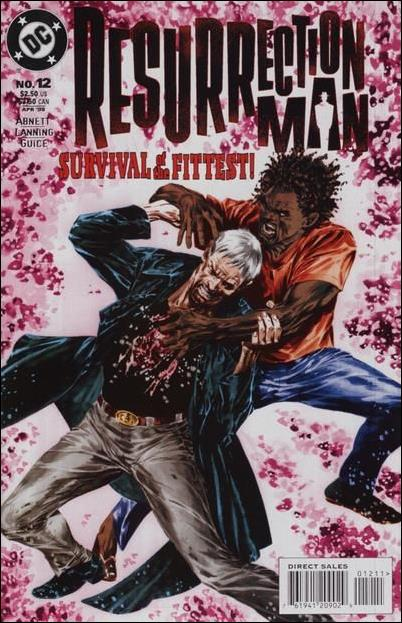 Resurrection Man (1997) 12-A by DC
