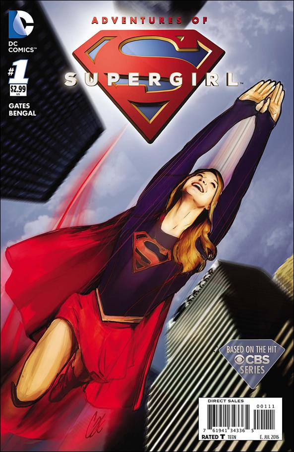 Adventures of Supergirl 1-A by DC