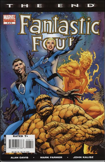 Fantastic Four: The End 6-A by Marvel