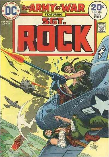 Our Army at War (1952) 266-A by DC