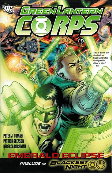 Green Lantern Corps: Emerald Eclipse 1-A by DC