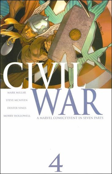 Civil War (2006) 4-A by Marvel