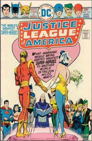 Justice League of America (1960) 121-A by DC