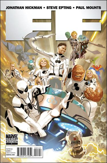 FF (2011) 1-E by Marvel