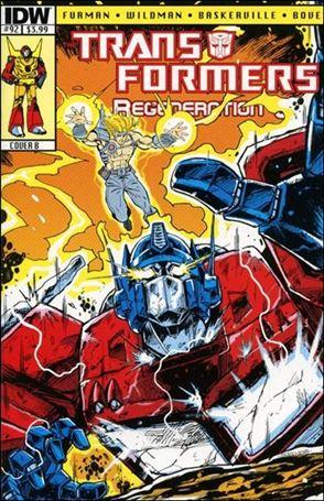 Transformers: Regeneration One 92-B