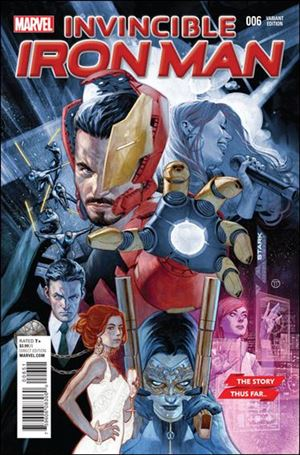 Invincible Iron Man (2015)  6-B