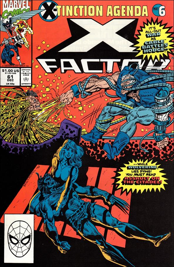 X-Factor (1986) 61-A by Marvel