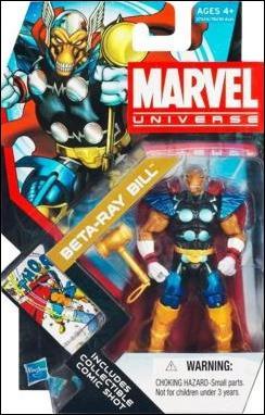 Marvel Universe (Series 4) Beta Ray Bill by Hasbro