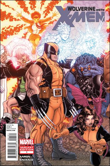 Wolverine & the X-Men 1-B by Marvel