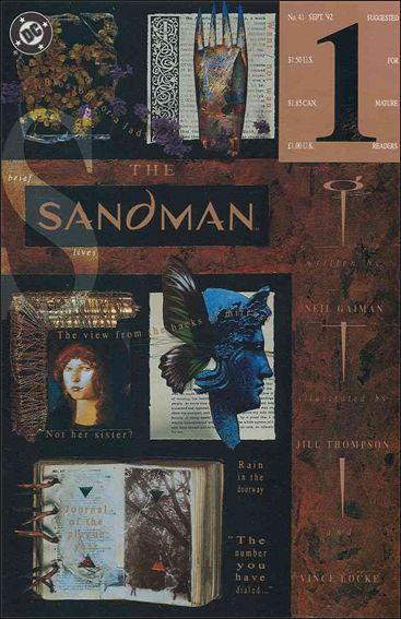 Sandman (1989) 41-A by Vertigo