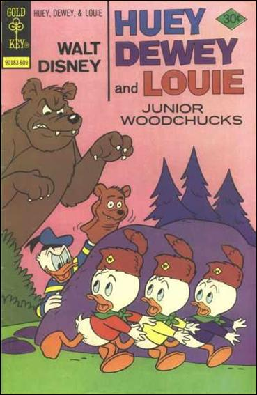 Walt Disney Huey, Dewey and Louie: Junior Woodchucks  40-A by Gold Key