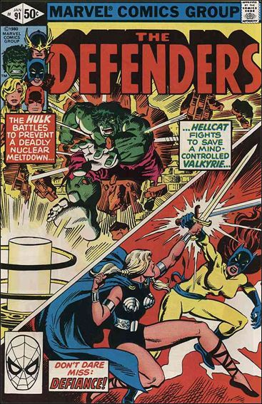 Defenders (1972) 91-A by Marvel