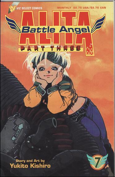 Battle Angel Alita Part 3 7-A by Viz