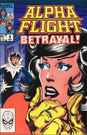 Alpha Flight (1983) 8-A by Marvel