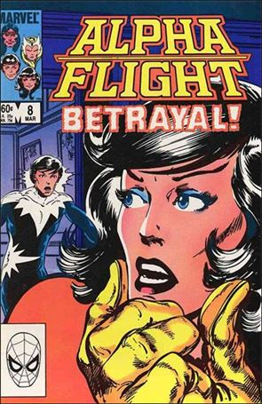 Alpha Flight (1983) 8-A