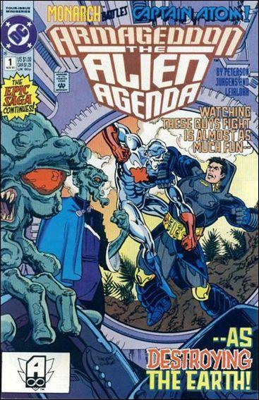 Armageddon: Alien Agenda 1-A by DC
