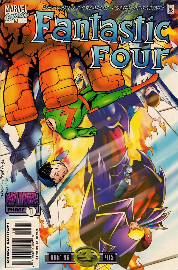 Fantastic Four (1961) 415-A by Marvel