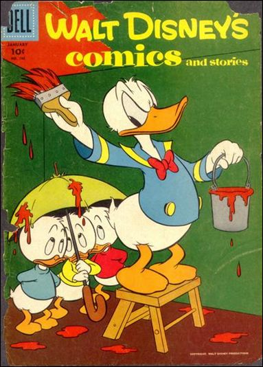 Walt Disney's Comics and Stories (1940) 196-A by Dell