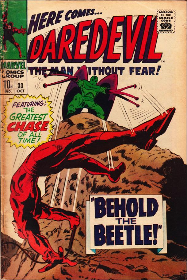 Daredevil (1964) 33-B by Marvel