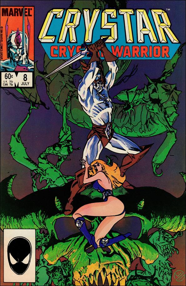 Saga of Crystar Crystal Warrior 8-A by Marvel