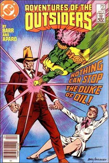 Adventures of the Outsiders 44-A by DC