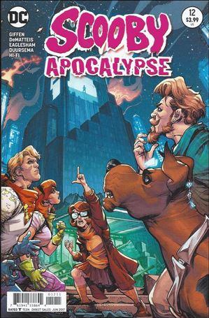 Scooby Apocalypse 12-A