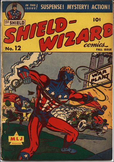 Shield-Wizard Comics 12-A by Archie