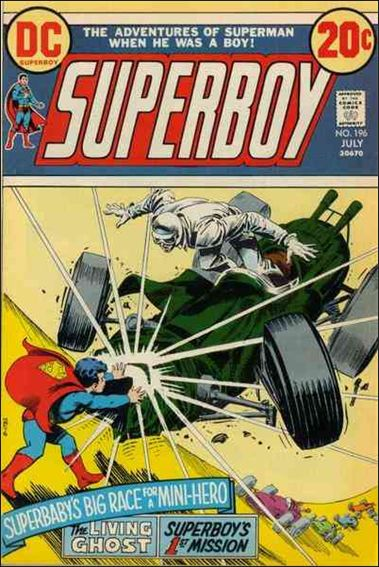 Superboy (1949) 196-A by DC