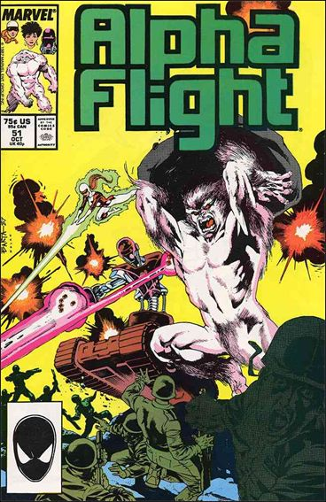 Alpha Flight (1983) 51-A by Marvel