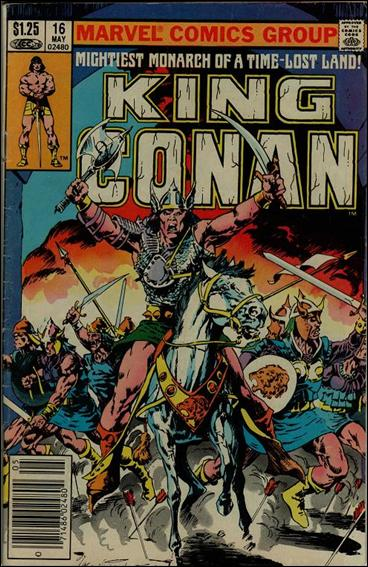 King Conan 16-B by Marvel