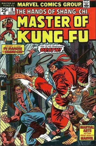 Master of Kung Fu 18-A by Marvel
