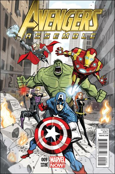 Avengers Assemble (2012) 9-B by Marvel