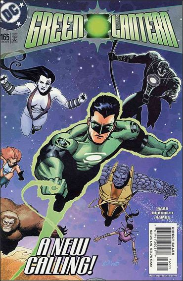 Green Lantern (1990) 165-A by DC