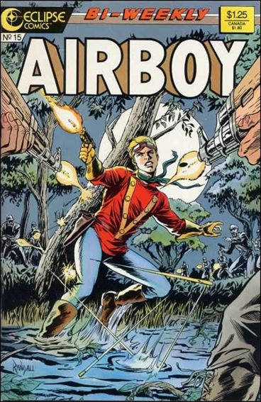 Airboy (1986) 15-A by Eclipse