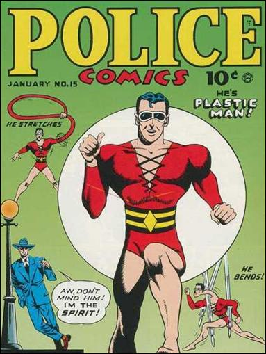 Police Comics 15-A by Comic Magazines