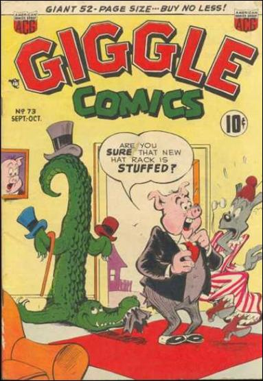 Giggle Comics 73-A by American Comics Group (ACG)