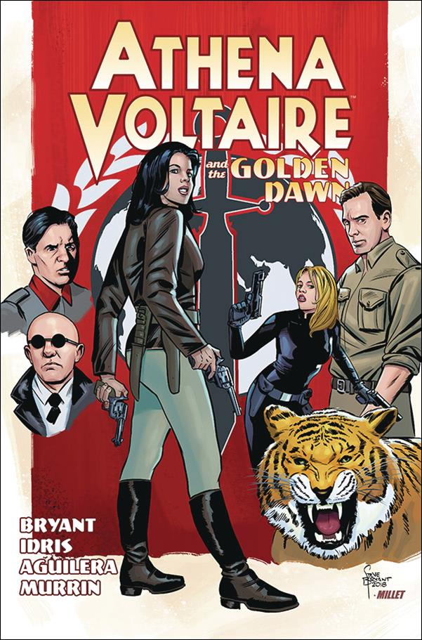 Athena Voltaire and the Golden Dawn nn-A by Action Lab Entertainment