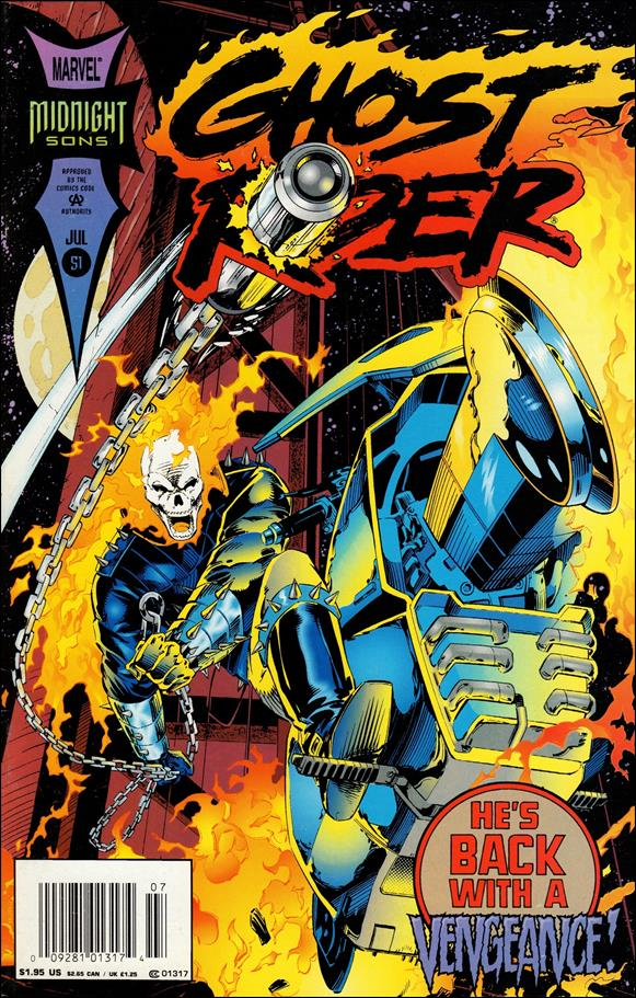 Ghost Rider (1990) 51-A by Marvel
